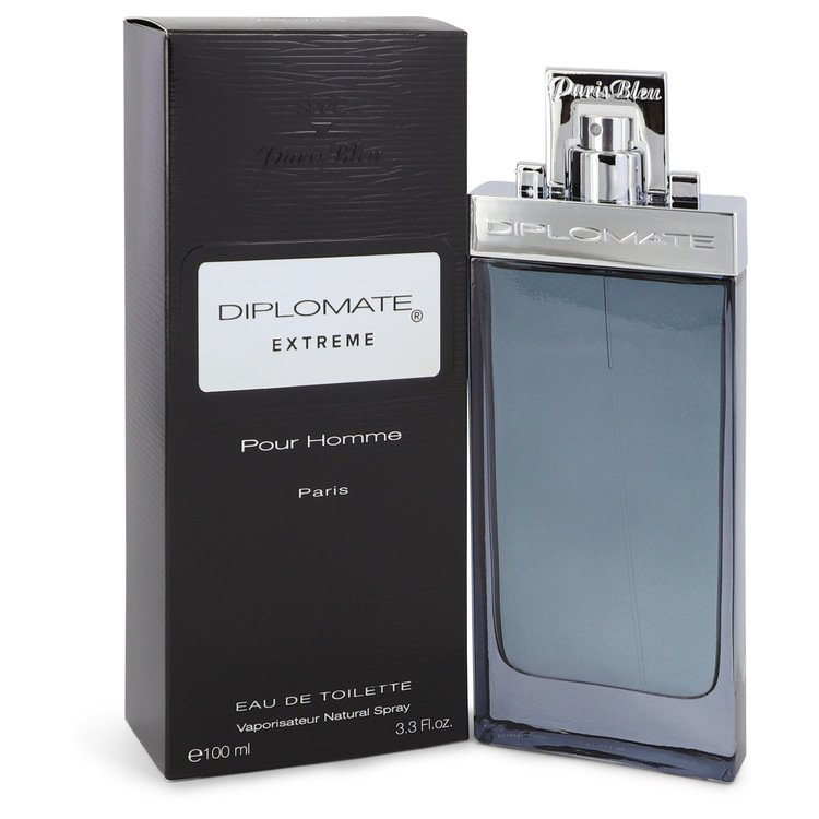 Diplomate Pour Homme Extreme Eau De Toilette Spray By Paris Bleu 100ml