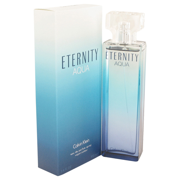 Eternity Aqua Eau De Parfum Spray By Calvin Klein 100ml