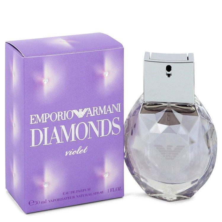 Emporio Armani Diamonds Violet Eau De Parfum Spray By Giorgio Armani 30ml