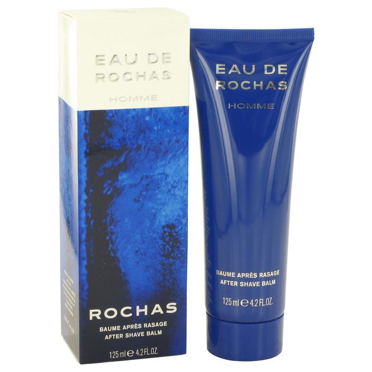 EAU DE ROCHAS by Rochas for Men After Shave Balm 4.1 oz