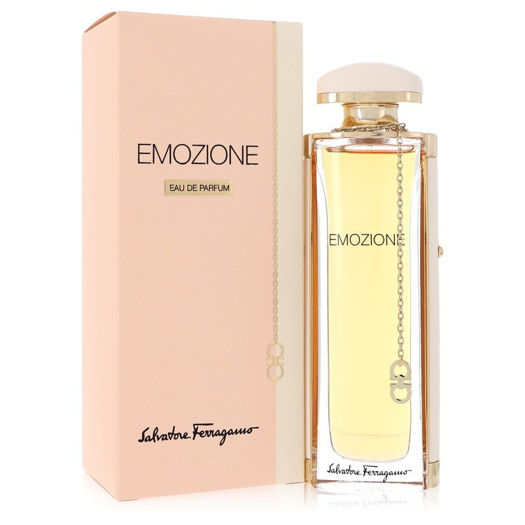 Emozione Eau De Parfum Spray By Salvatore Ferragamo 50ml