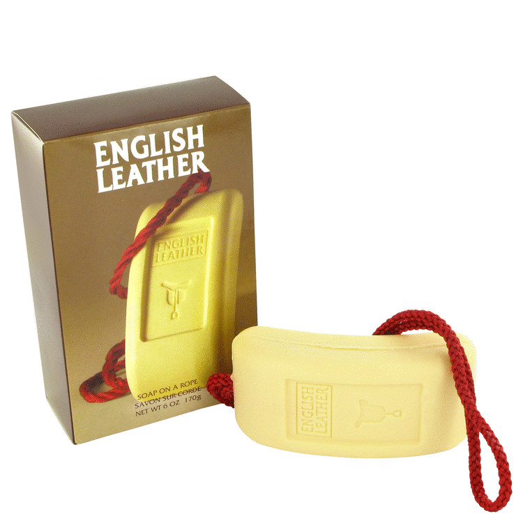 ENGLISH LEATHER by Dana for Men Soap on a rope 6 oz
