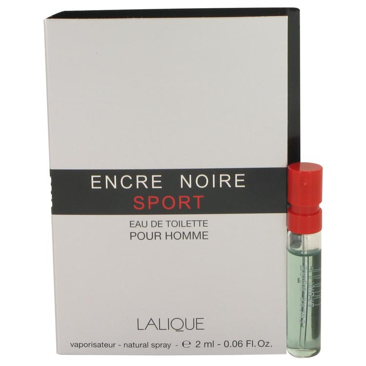 Encre Noire Sport by Lalique for Men Vial (sample) .06 oz