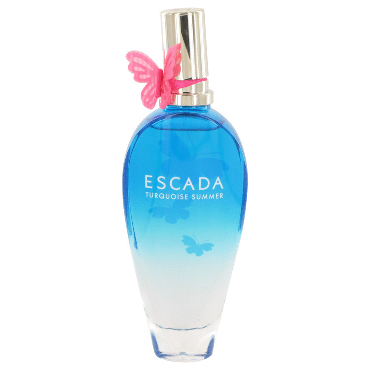 Escada Turquoise Summer Eau De Toilette Spray (Tester) By Escada 100ml