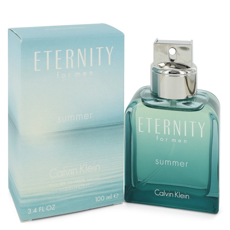 Eternity Summer Eau De Toilette Spray (2012) By Calvin Klein 3.4oz