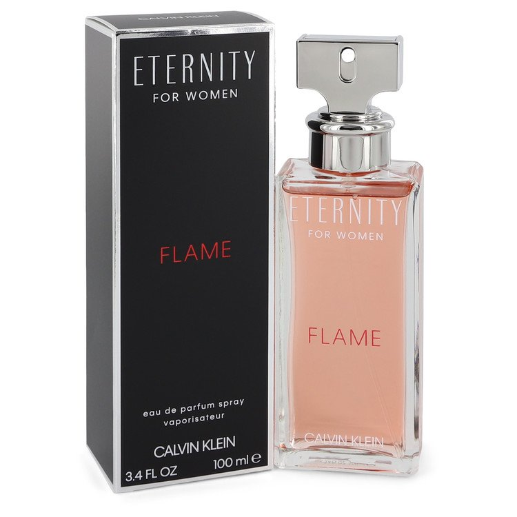 Eternity Flame Eau De Parfum Spray By Calvin Klein 100ml