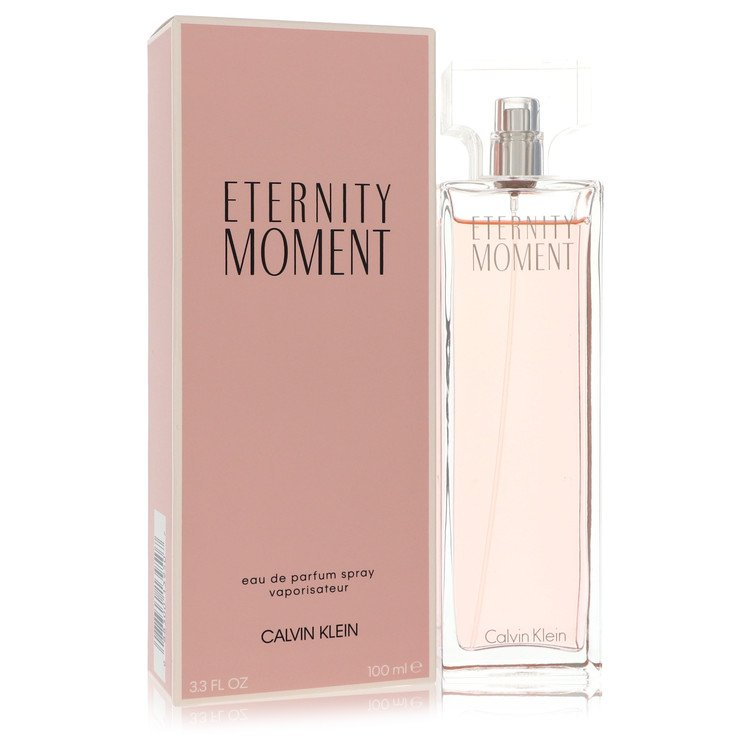 Eternity Moment Eau De Parfum Spray By Calvin Klein 100ml