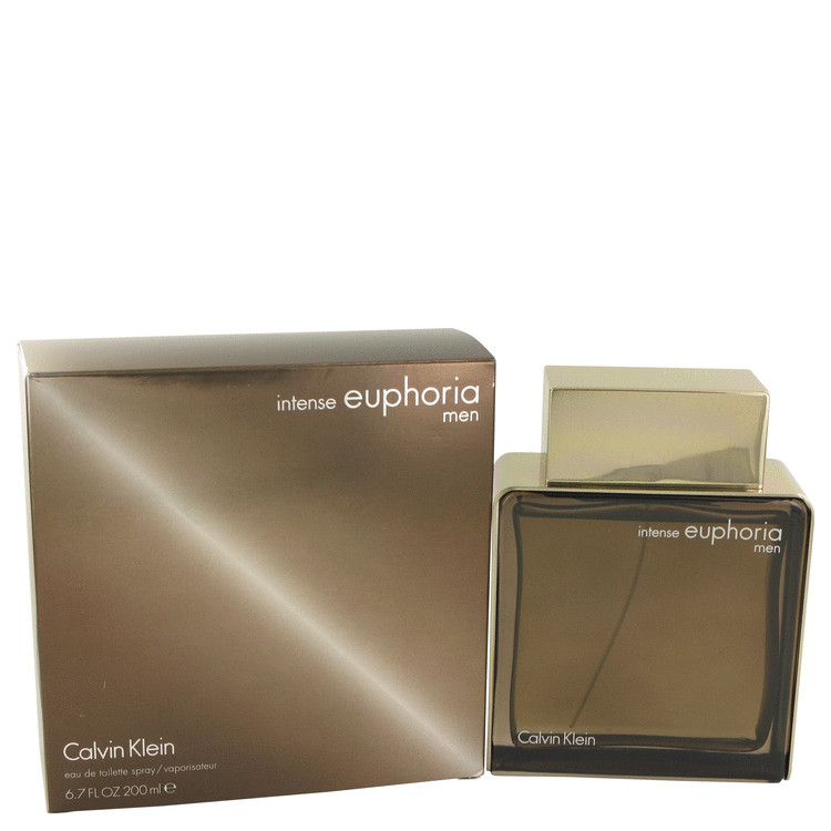 Euphoria Intense by Calvin Klein for Men Eau De Toilette Spray 6.7 oz