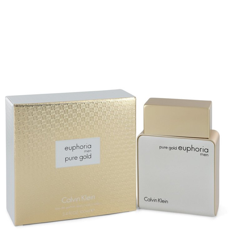 Euphoria Pure Gold Eau De Parfum Spray By Calvin Klein 100ml