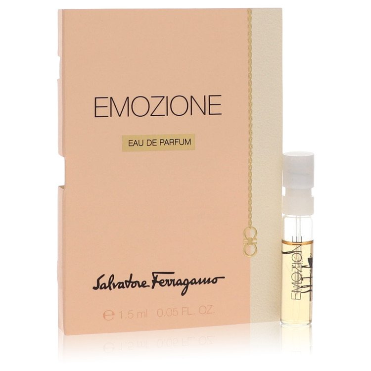 Emozione Vial (sample) By Salvatore Ferragamo 1ml