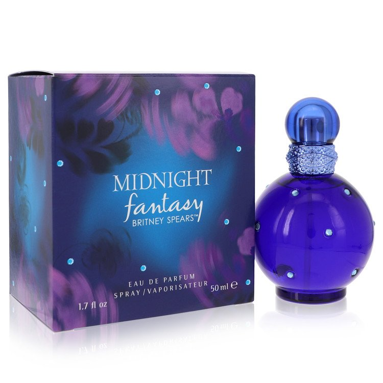 Fantasy Midnight Eau De Parfum Spray By Britney Spears 50ml