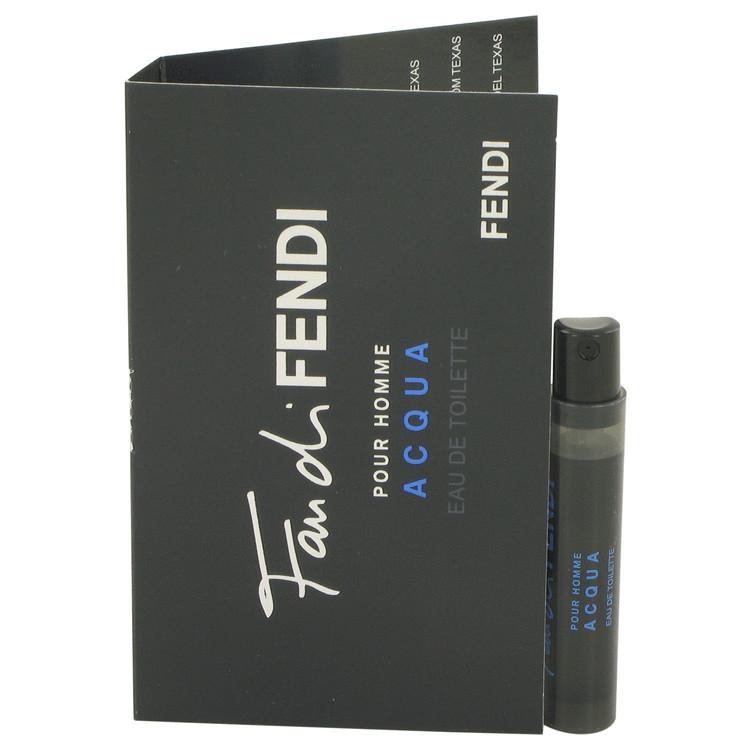 Fan Di Fendi Acqua by Fendi for Men Vial (sample) .05 oz