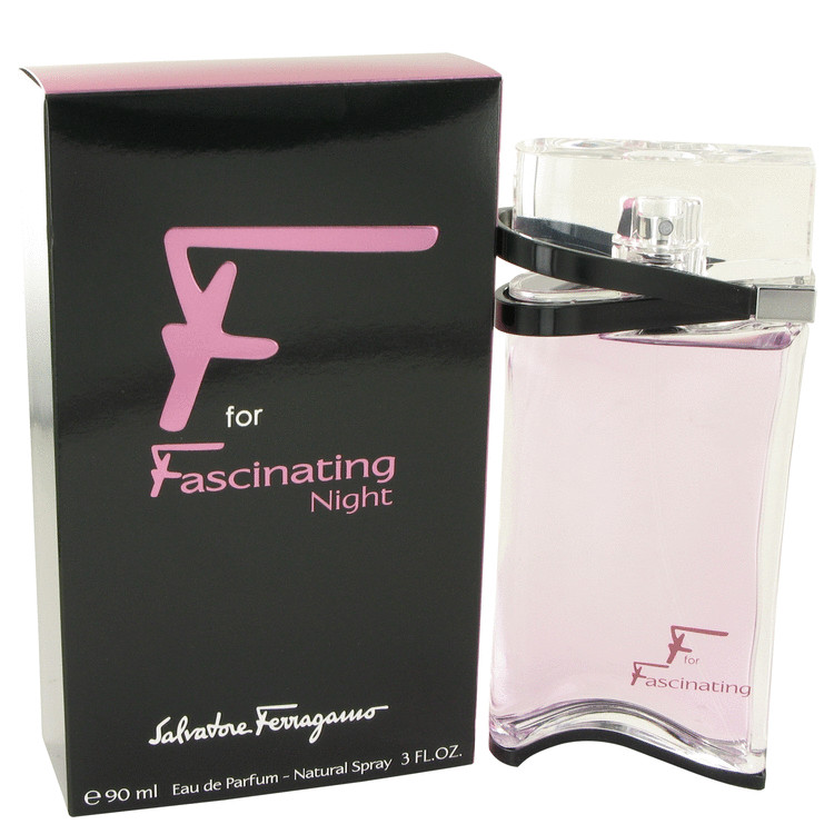 F For Fascinating Night Eau De Parfum Spray By Salvatore Ferragamo 90ml