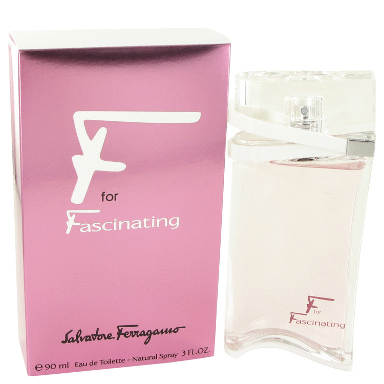 F For Fascinating Eau De Toilette Spray By Salvatore Ferragamo 90ml