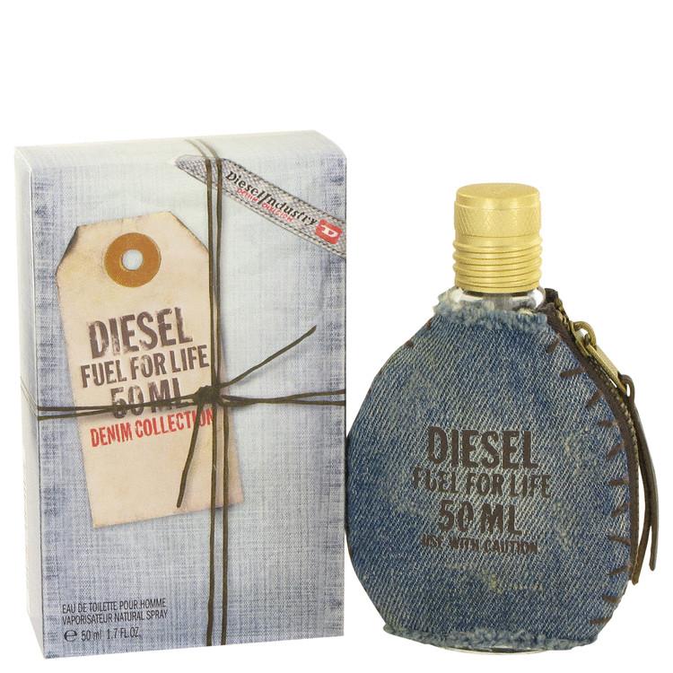 Fuel For Life Denim by Diesel for Men Eau De Toilette Spray 1.7 oz