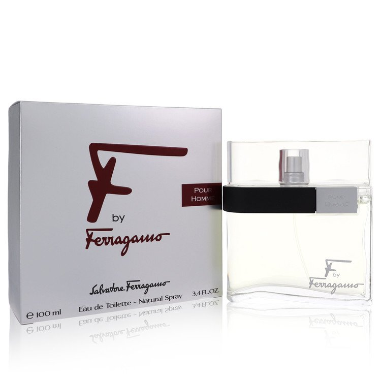 F Eau De Toilette Spray By Salvatore Ferragamo 100ml