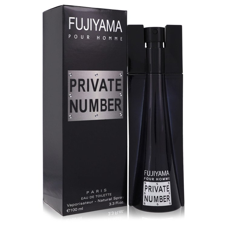 Fujiyama Private Number Eau De Toilette Spray By Succes De Paris 100ml