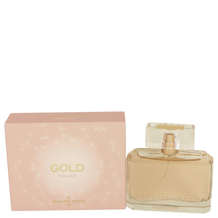 Gold Bouquet by Roberto Verino for Women Eau De Parfum Spray 1.7 oz