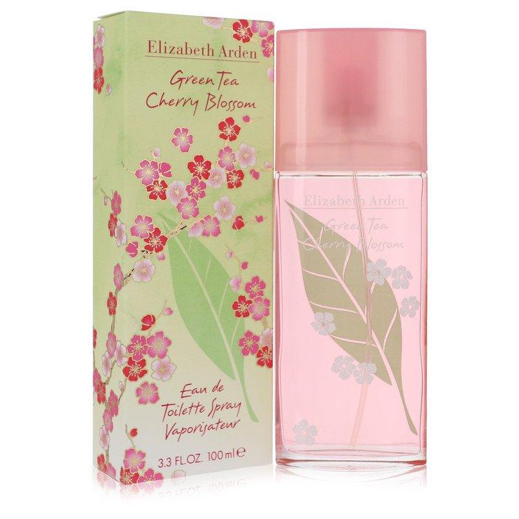 Green Tea Cherry Blossom Eau De Toilette Spray By Elizabeth Arden 100ml