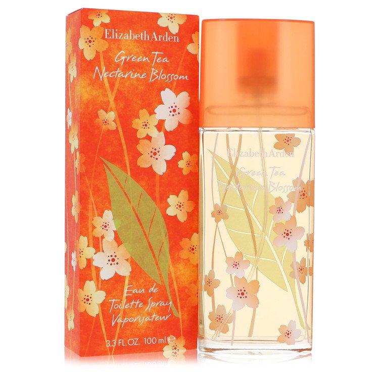 Green Tea Nectarine Blossom Eau De Toilette Spray By Elizabeth Arden 100ml