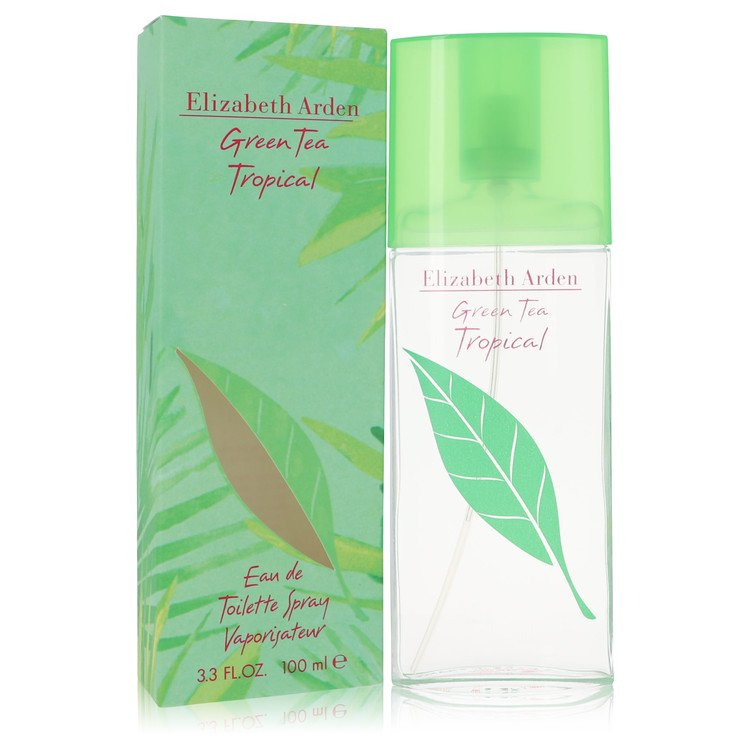 Green Tea Tropical Eau De Toilette Spray By Elizabeth Arden 100ml