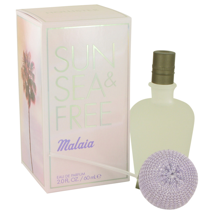 Hollister Sun Sea and Free Malaia Eau De Parfum Spray By Hollister 60ml