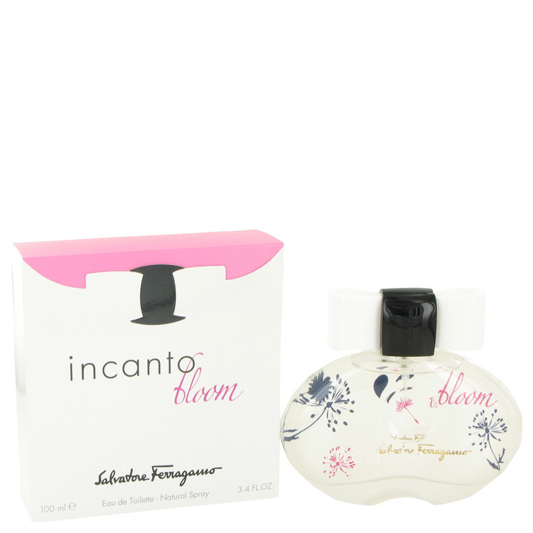 Incanto Bloom Eau De Toilette Spray (New Packaging) By Salvatore Ferragamo 100ml