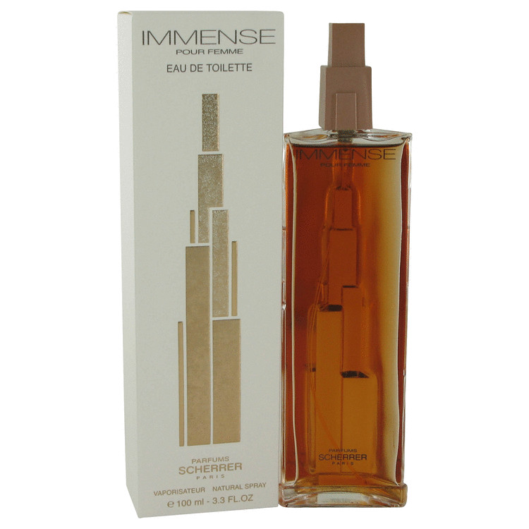Immense by Jean Louis Scherrer for Women Eau De Toilette Spray 3.4 oz