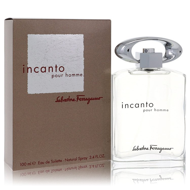 Incanto Eau De Toilette Spray By Salvatore Ferragamo 100ml