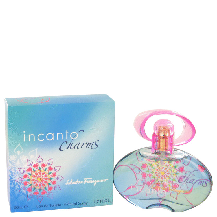 Incanto Charms Eau De Toilette Spray By Salvatore Ferragamo 50ml
