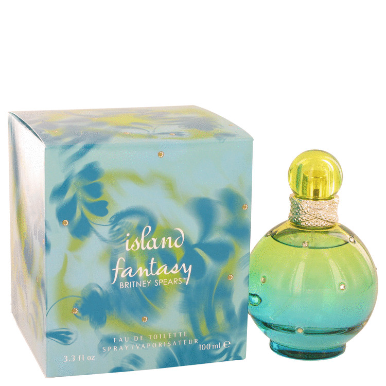 Island Fantasy Eau De Toilette Spray By Britney Spears 100ml