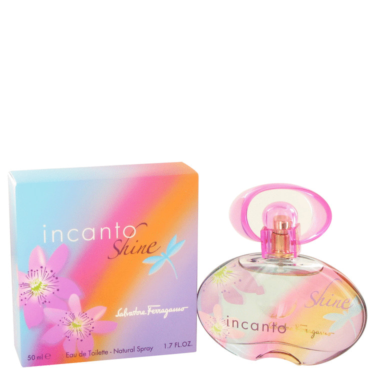 Incanto Shine Eau De Toilette Spray By Salvatore Ferragamo 50ml