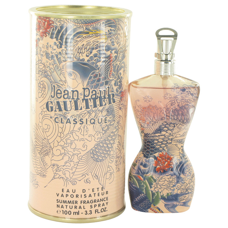 Jean Paul Gaultier Summer Fragrance by Jean Paul Gaultier for Women Eau D\'ete Parfumee Spray (2013) 3.4 oz