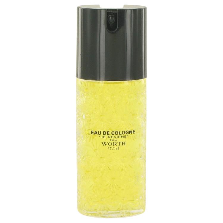 je reviens by Worth for Women Eau De Cologne Spray (unboxed) 4 oz