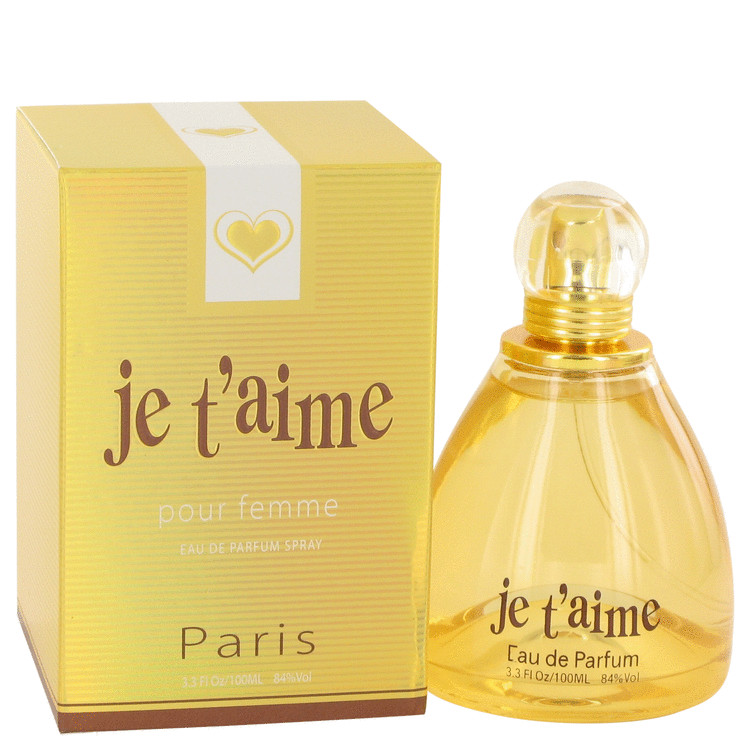 Je T`aime Eau De Parfum Spray By YZY Perfume 100ml
