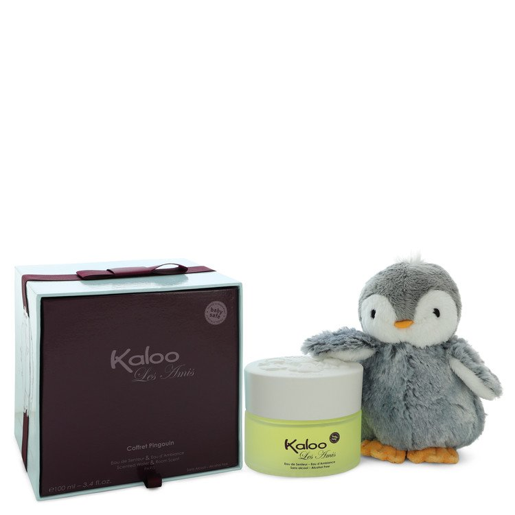Kaloo Les Amis Alcohol Free Eau D`ambiance Spray + Free Penguin Soft Toy By Kalo