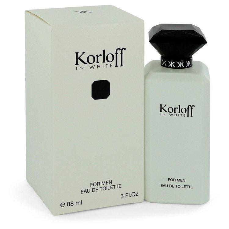 Korloff In White Eau De Toilette Spray By Korloff 90ml