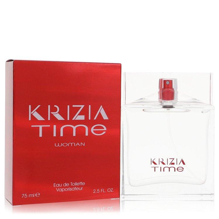 Krizia Time Eau De Toilette Spray By Krizia 75ml