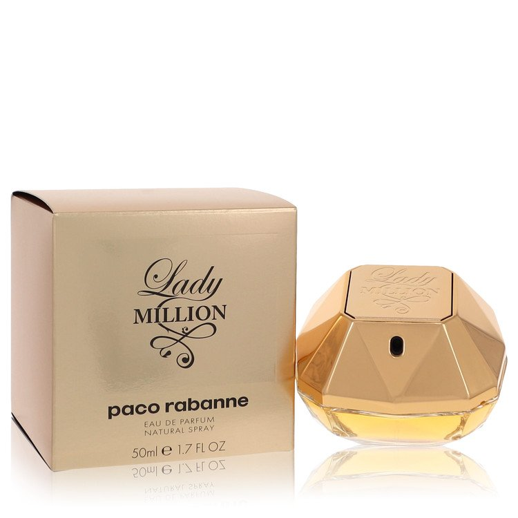 Lady Million Eau De Parfum Spray By Paco Rabanne 50ml