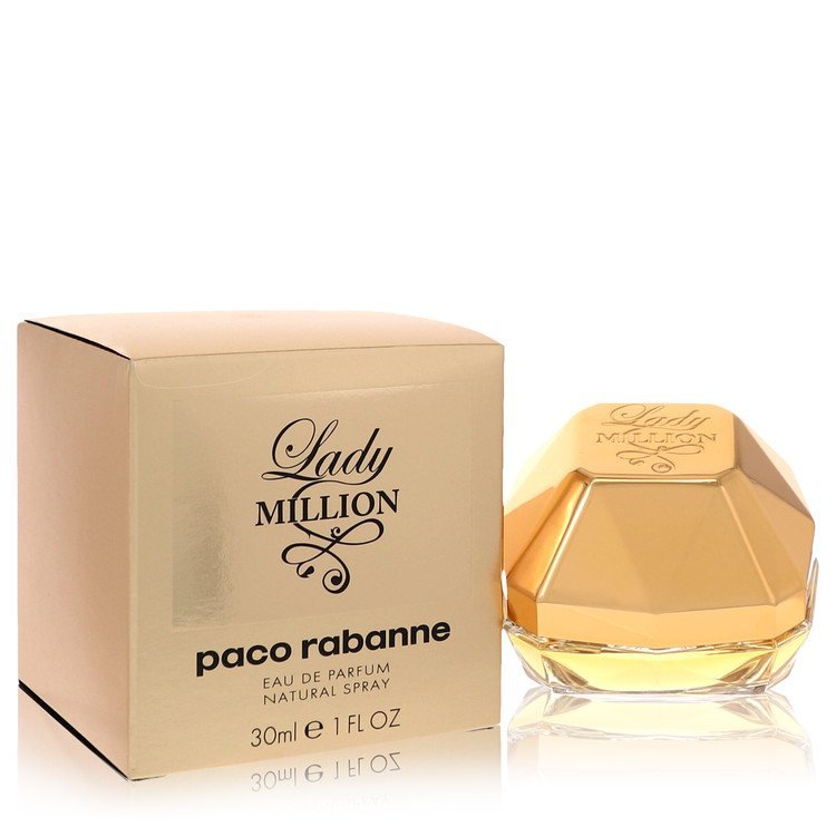Lady Million Eau De Parfum Spray By Paco Rabanne 30ml