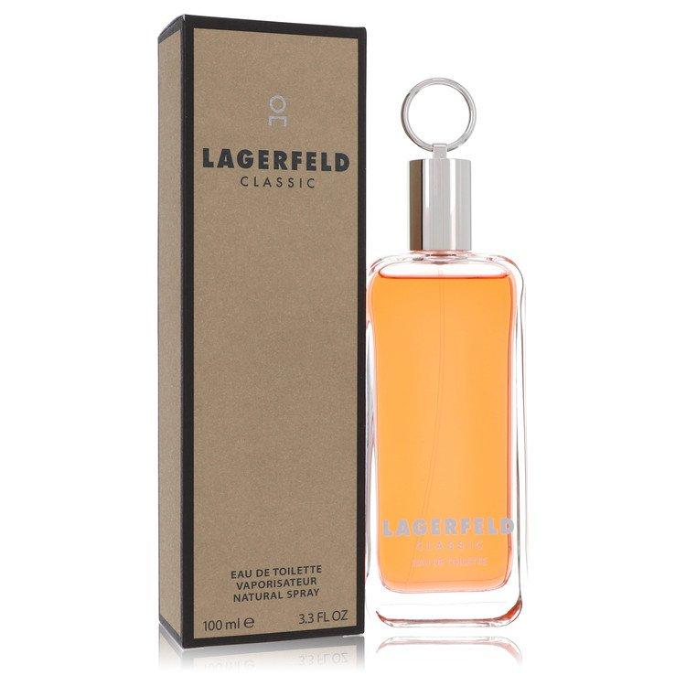 Lagerfeld Eau De Toilette Spray By Karl Lagerfeld 100ml