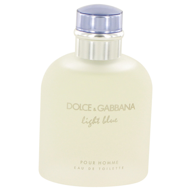 Light Blue by Dolce & Gabbana for Men Eau De Toilette Spray (unboxed) 4.2 oz