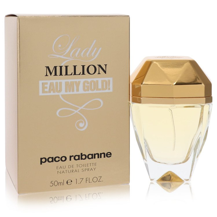 Lady Million Eau My Gold Eau De Toilette Spray By Paco Rabanne 50ml