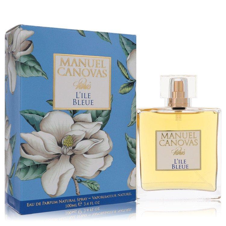 L`ile Bleue Eau De Parfum Spray By Manuel Canovas 100ml