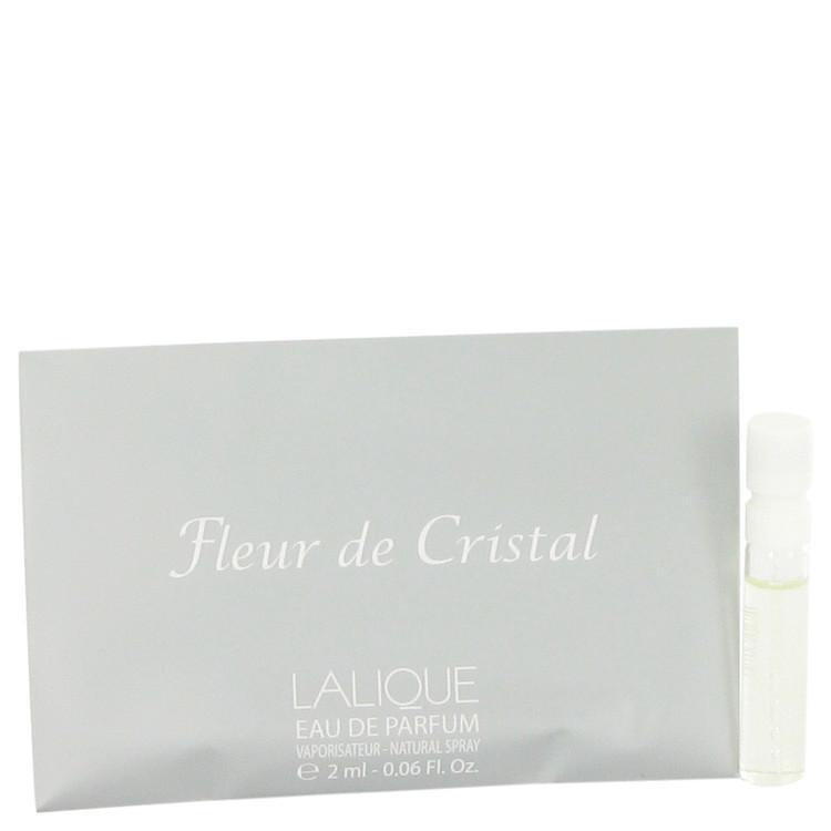 Lalique Fleur De Cristal by Lalique for Women Vial (sample) .06 oz