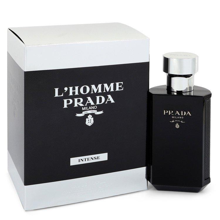 L`homme Intense Prada Eau De Parfum Spray By Prada 50ml