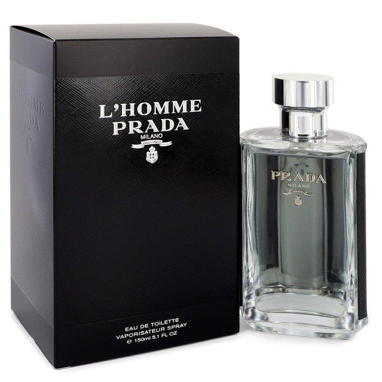 L`homme Prada Eau De Toilette Spray By Prada 151ml