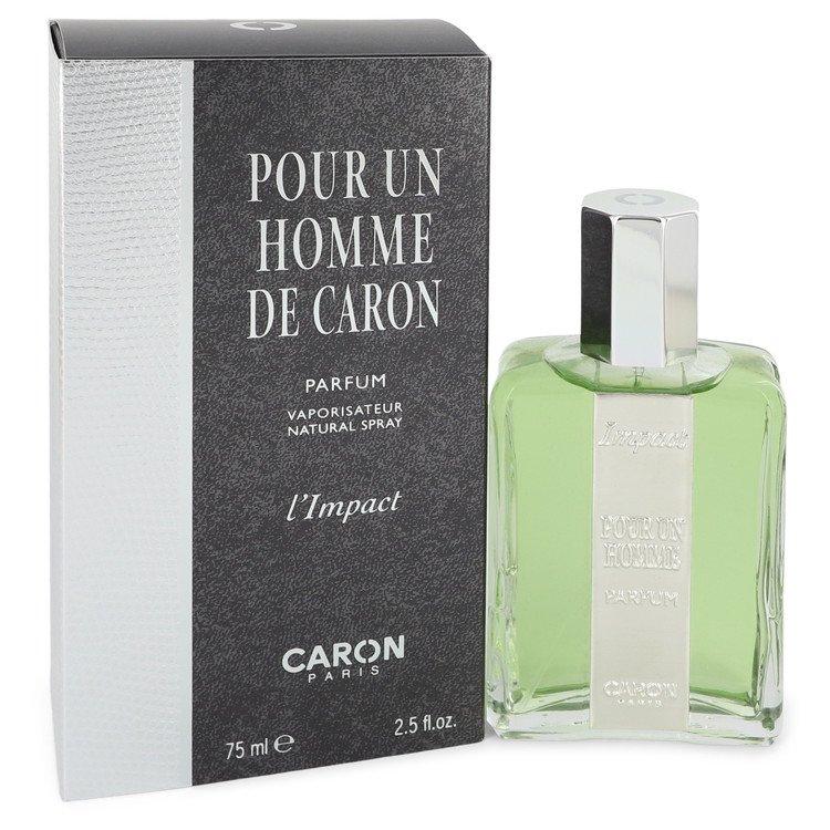 L`impact De Pour Un Homme Parfum Spray By Caron 75ml