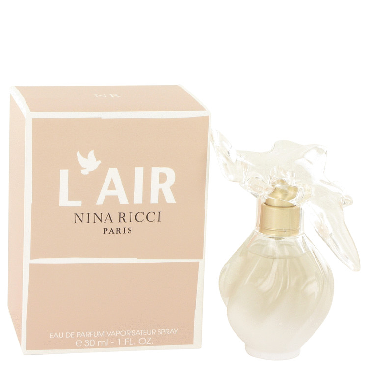L'air by Nina Ricci for Women Eau De Parfum Spray 1 oz