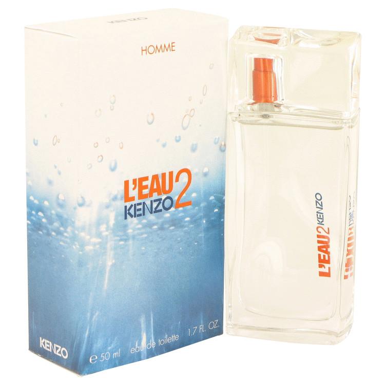 L'eau Par Kenzo 2 by Kenzo for Men Eau De Toilette Spray 1.7 oz